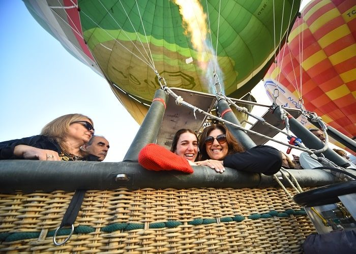 Pamukkale Hot Air Balloon Basket